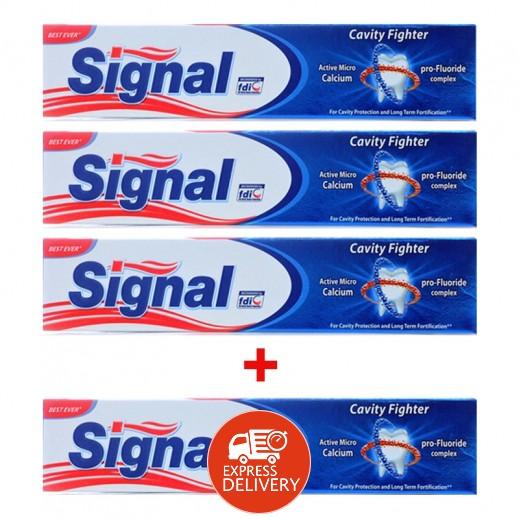 سيجنال - معجون أسنان 120 مل (3+1 مجاناً)