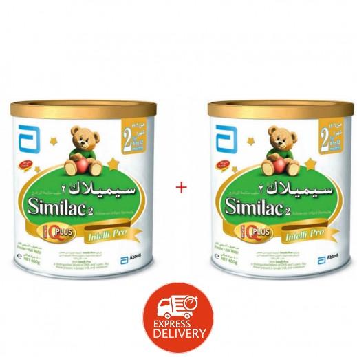 سيميلاك – طعام للأطفال أي كيو بلس 2 × 400 جم (6-12 شهر) - 20% خصم