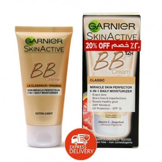 Garnier Skinactive BB Miracle Skin Perfector Cream Light 50 ml