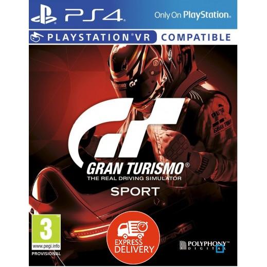 لعبة Gran Turismo Sport لبلاي ستيشن 4 – نظام PAL