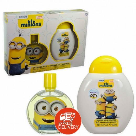 طقم مينونز للأطفال (عطر 100 مل + جيل إستحمام للأطفال 300 مل)