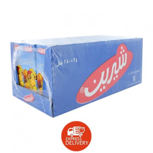 شيرين - عصير كوكتيل نكتار 250 مل ( 24 حبة )