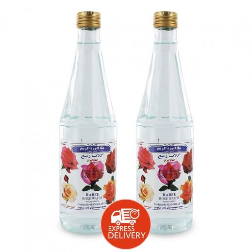 ربيع - ماء الورد الطبيعي 2 حبة × 430 مل