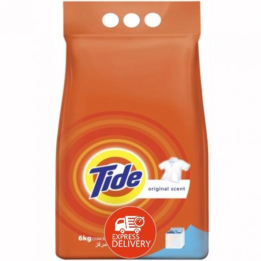 تايد - مسحوق الغسيل العطر الأصلي للغسالات العادية 6 كجم