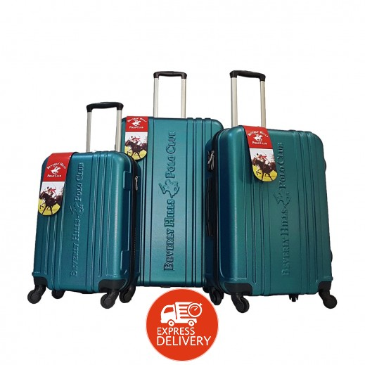 بولو - طقم حقائب سفر يونيتي 3 حبة - فيروزي