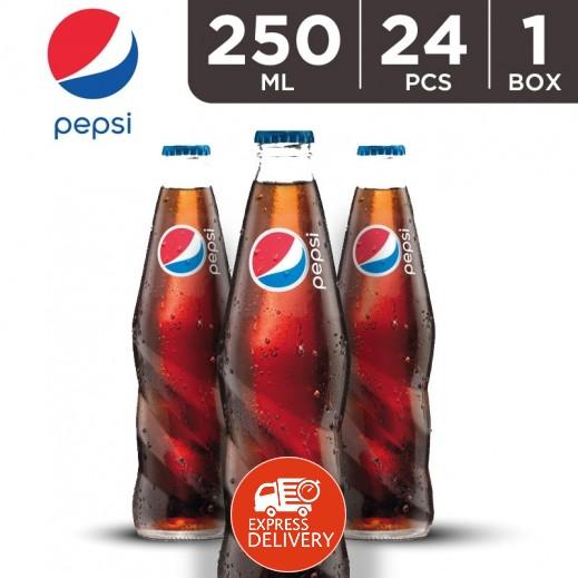 بيبسي – مشروب غازي 250 مل ( 24 حبة )