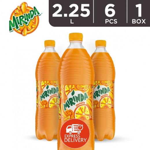 ميريندا – شراب البرتقال 2.25 لتر ( 6 حبة )