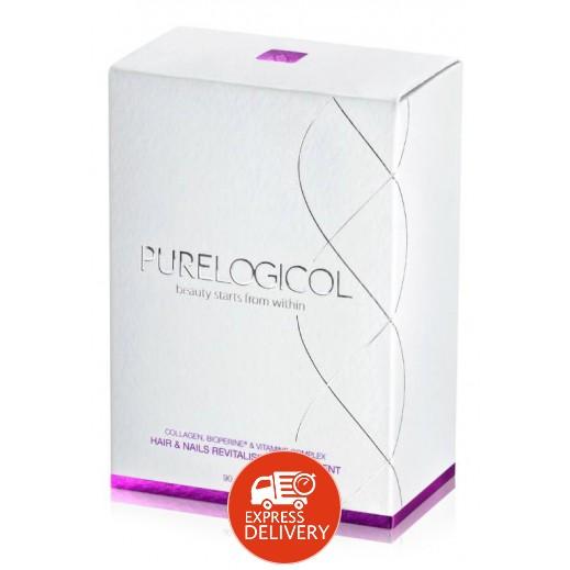 بيورلوجيكال – مكمل غذائي لتقوية الشعر والأظافر – 90 كبسولة