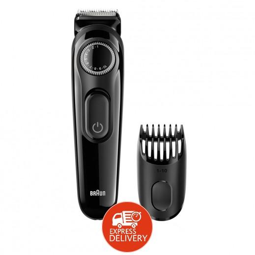 براون – أداة تشذيب الشعر مع 20 وضعية طول موديل BT3020