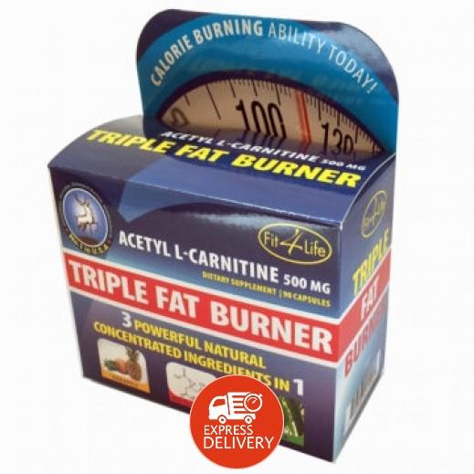 أسيتيل - حبوب حرق الدهون الثلاثية 500 مجم 30 حبة
