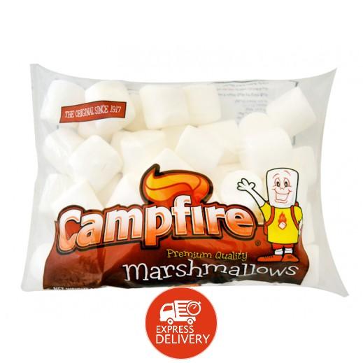 كامبفير – حلوى مارشمالو الخطمى كبيرة الحجم – بيضاء 300 جم