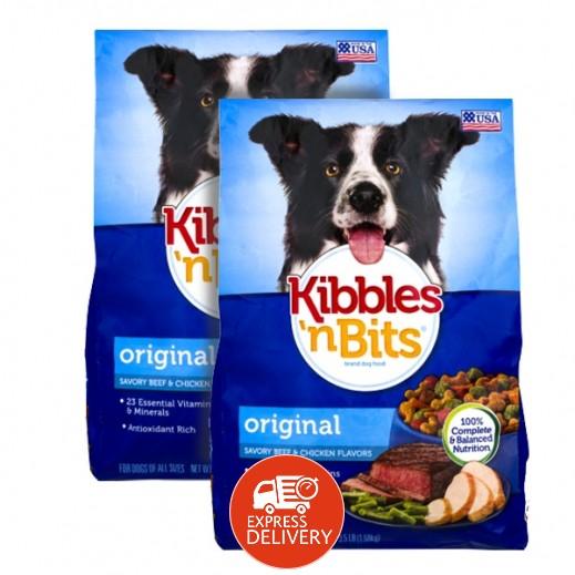 كيبلس أن بيتز - طعام الكلاب الأصلي مع اللحم البقري والدجاج 2 × 1.59 كجم