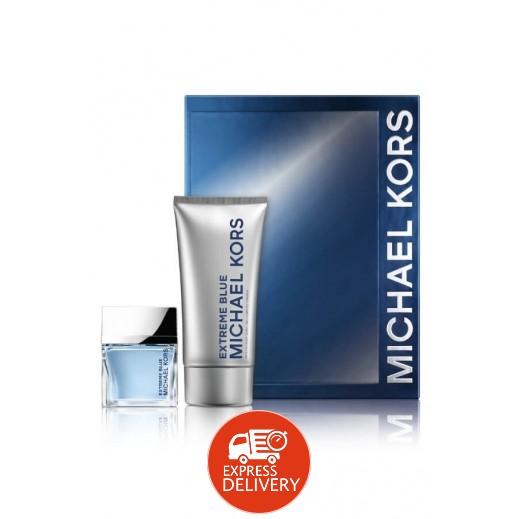 Michael Kors Extreme Blue Gift Set For Him EDT 70 ml + Hair & Body Wash 150 ml
