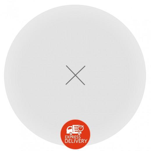 موماكس – قاعدة شحن لاسلكية سريعة للهواتف الذكية – أبيض