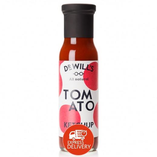 د. ويلز - كاتشب الطماطم الطبيعي الخالي من الجلوتين 250 جم