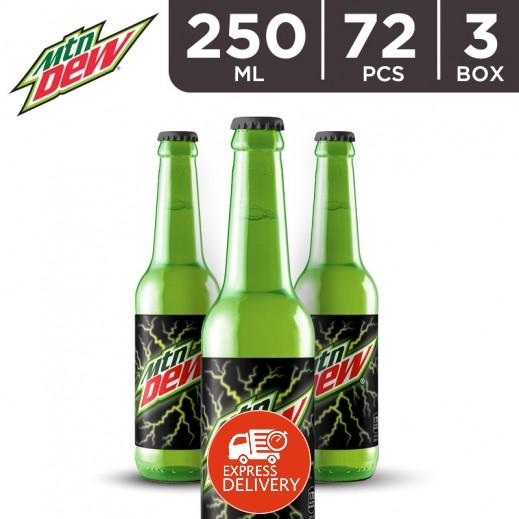 ماونتن ديو – مشروب غازي 250 مل ( 3 كرتون × 24 حبة ) - أسعار الجملة