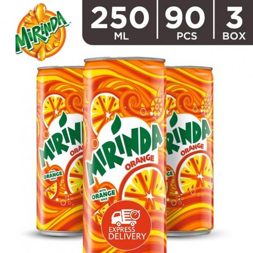ميريندا – شراب البرتقال 250 مل ( 3 كرتون × 30 حبة ) - أسعار الجملة