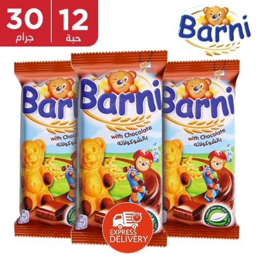 بارني – كيك بالشوكولاتة 30 جم × 12 حبة