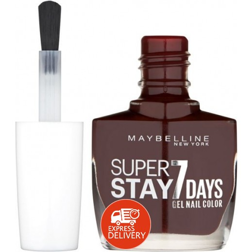 Maybelline Super Stay 7 Days Gel Nail Polish 889 Dark Roast
