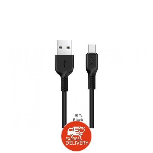 هوكو – كيبل Micro USB بطول 3 م – اسود