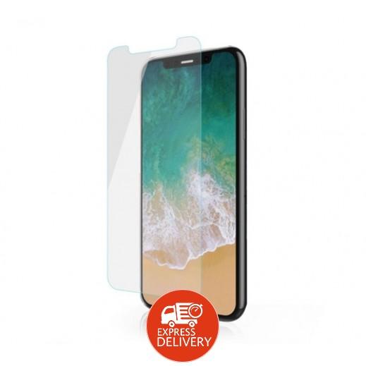 دڨيا – حماية شاشة زجاجي لهاتف ايفون X / XS - شفاف
