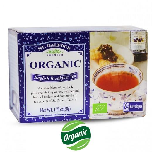 سان دالفور – شاي فطور إنجليزي عضوي 25 كيس × 2 جم