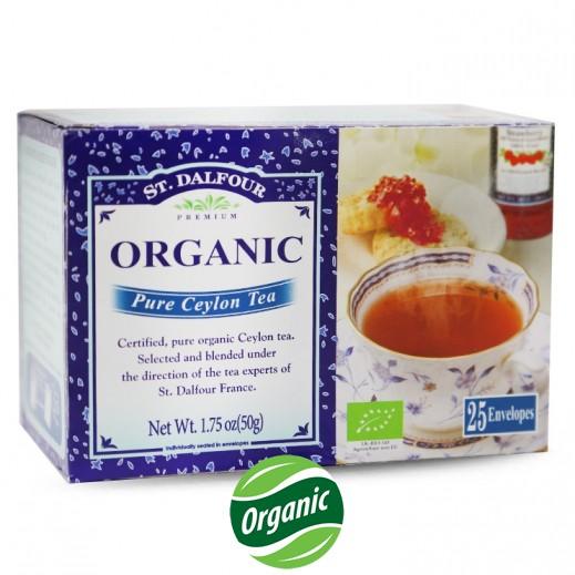سان دالفور – شاي سيلاني طبيعي عضوي 25 كيس × 2 جم