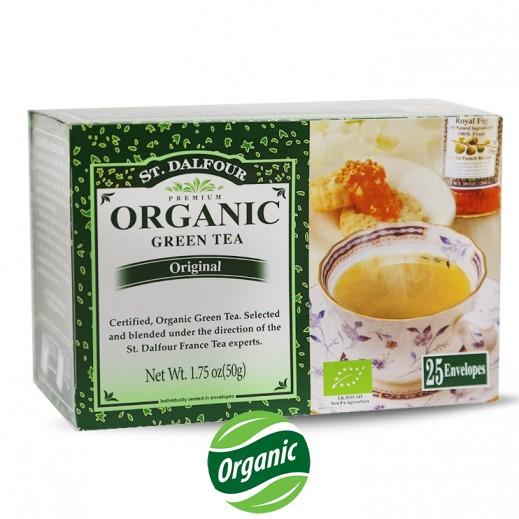 سان دالفور – شاي أخضر طبيعي عضوي 25 كيس × 2 جم