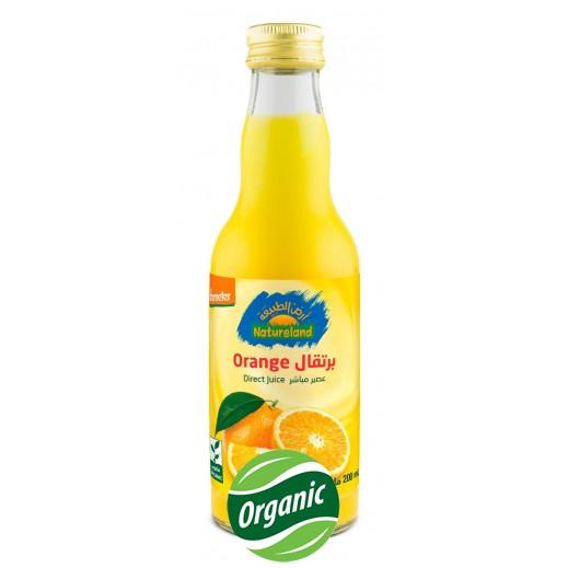 أرض الطبيعة - عصير البرتقال العضوي 200 مل