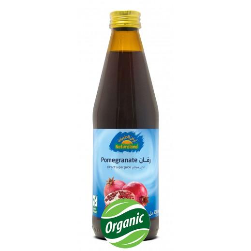 أرض الطبيعة - عصير الرمان العضوي 330 مل