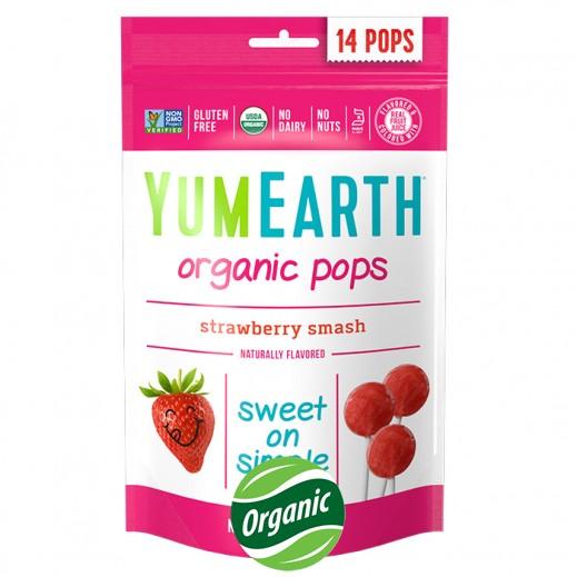 يامي إيرث – حلوى عضوية بطعم الفراولة 85 جم