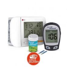 410d4bba7 هارتون - جهاز قياس ضغط الدم من الرسغ موديل YE8900 + جهاز قياس ضغط الدم  أدفانسد