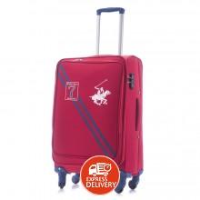 925db15369181 بولو - حقيبة سفر سيفين بقفل TSA حجم متوسط - أحمر